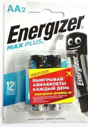 Элемент питания ENR MAX PLUS AA BP2 1/12