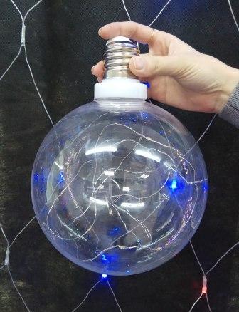 Шар для светодиодов большой