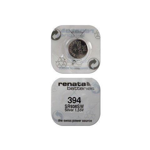Элемент питания Renata 394 (SR936SW) 0%Hg BL-1/100