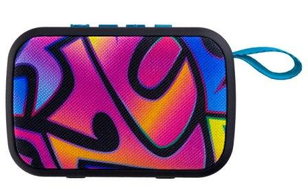 "Bluetooth Колонка PERFEO ""ZENS"" PF-A4973 5Вт Граффити"