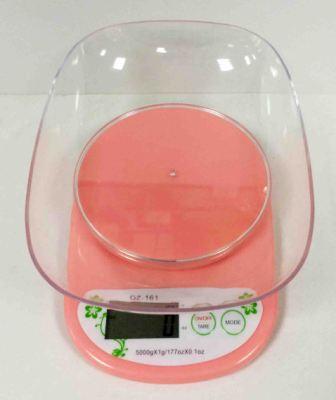 Весы кухонные QZ-161  (до 5 кг), 2*ААА