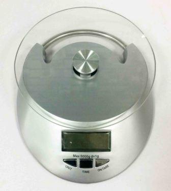 Весы кухонные KE-4  (до 5 кг), 1*CR2032