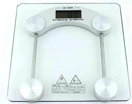 Весы напольные PH-2015D, стекло  (до 180 кг/100гр) 1*CR2032