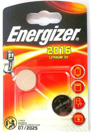 Элемент питания ENR CR2016 Lithium S FSB2 E301021901  1/10