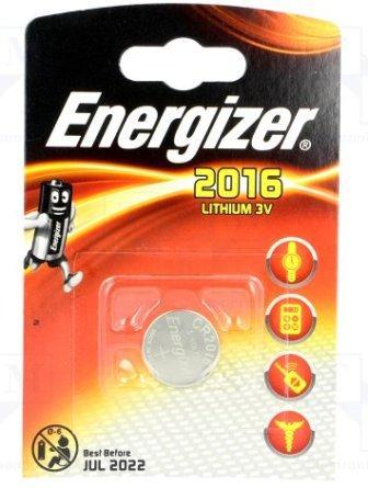 Элемент питания ENR CR2016 Lithium S BL1 E301021801  1/10
