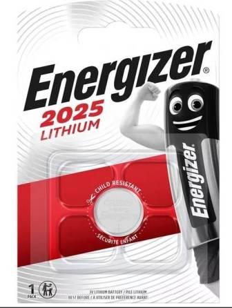 Элемент питания ENR CR2025 Lithium BL1 E301021601 1/10