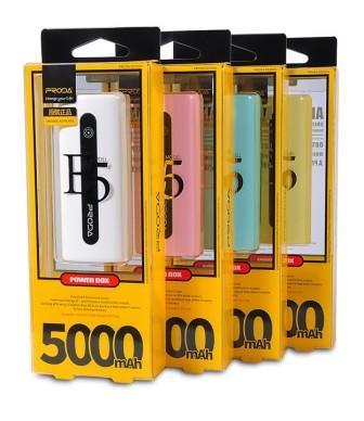 Внешний аккумулятор Remax Proda E5. 5000mAh, 1USB*1A