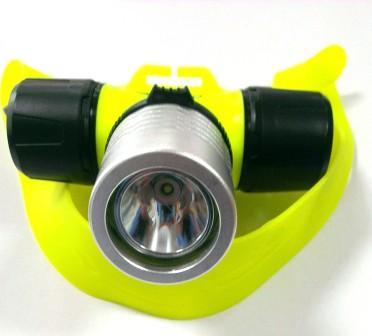 Фонарь LED налобный для дайвинга, 30 метров    1/60/120
