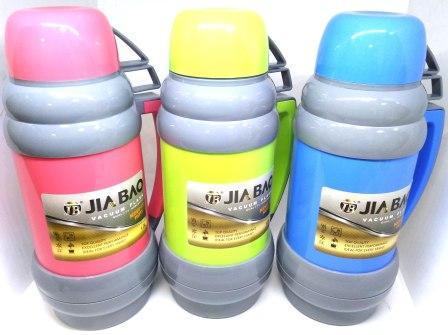 Термос DA1000 стеклян. колба  1.0л color