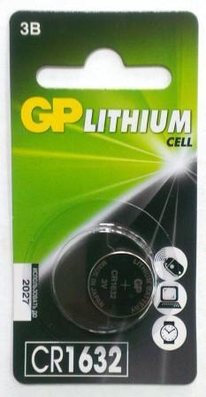 Элемент питания GP CR1632 BL-1/10/100