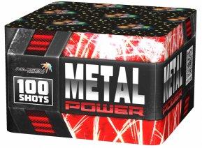 """Батарея салютов """"METAL POWER""""  100 залпов * 1.2""""  1/1"""