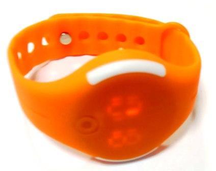 Часы электронные детские наручные круглые