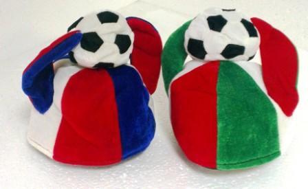 4-13 шляпа футбольный мяч с рогами