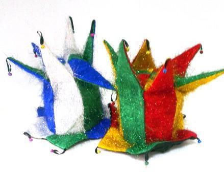 4-7 шляпа с бубенцами лохматая