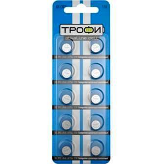 Элемент питания  ТРОФИ  G5 (393/LR754/LR48) к-т10