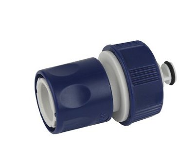 GAES20-07 ECO Соединитель (коннектор) с аквастопом для шланга 19мм (3/4)