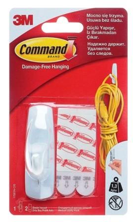 Command 17001NEW  Легкоуд. крючок сред., 1шт