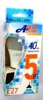Лампа AktivElektro LED A60  5Вт Е27 4000К