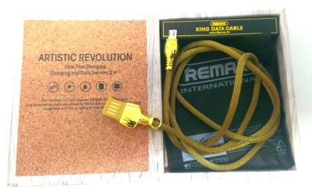 Кабель ReMax King RC-063m microUSB , 1м