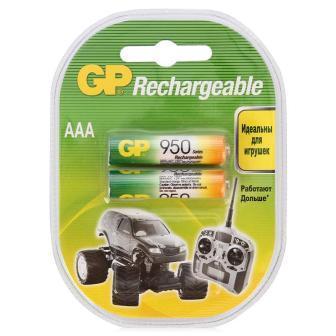 Аккумуляторные GP NIMH 950 R03-2 BL