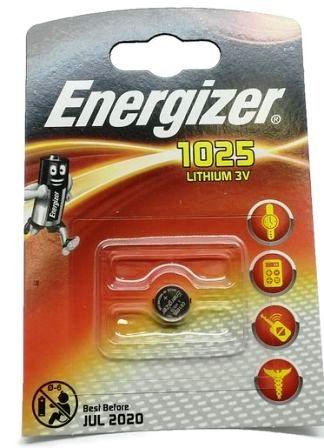 Элемент питания ENR CR1025 Lithium BL1 1/10