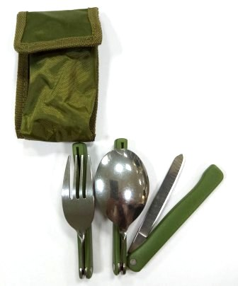 Набор Ложка/вилка/нож  K603, чехол