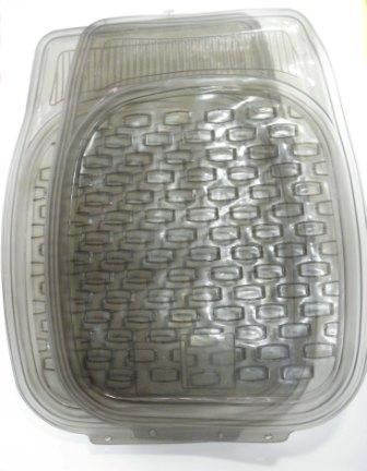 Коврики а/м HXTY, силикон. резина, 5шт., темн