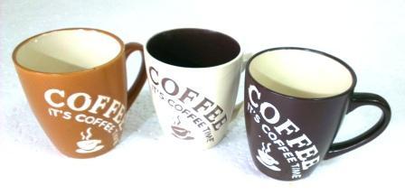 Чашка кофейная средняя 3вида S001