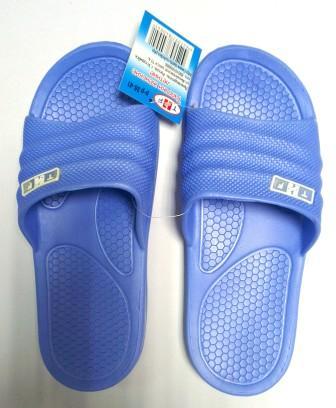 Тапочки женские литые B 21 голубые