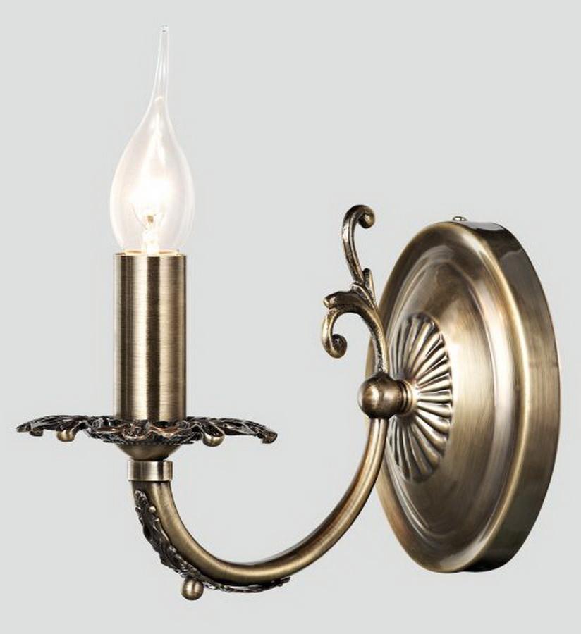Светильник  Rivoli Disa-W-1хE14-60W-Аntique bronze