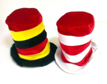 25-5 шляпа полосатая высокая