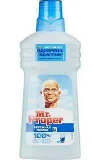 MR PROPER Моющая жидкость для полов и стен  Бережная уборка 0,5л