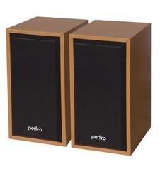 """Колонки Perfeo """"Cabinet"""" 2.0, USB махагон PF-84"""