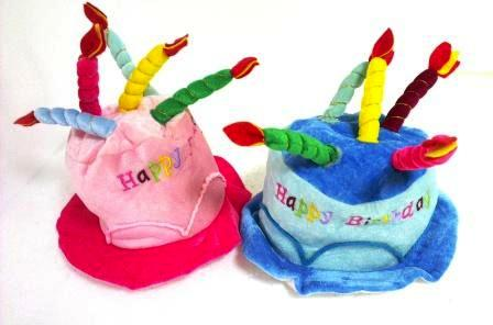 4-9 шляпа день рожденья со свечками