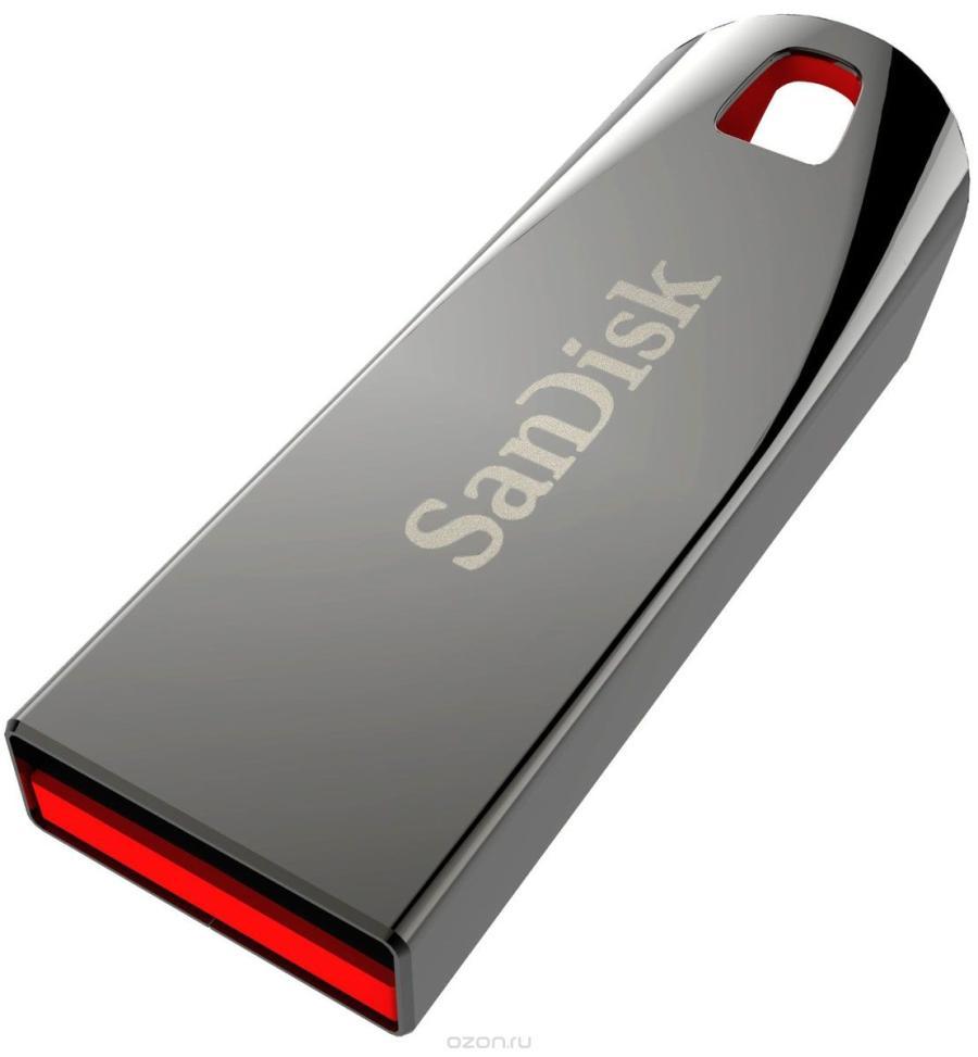 USB флэш-диск SanDisk 64GB CZ71 Cruzer Force, silv