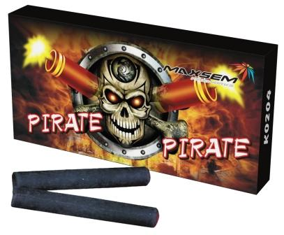 """Петарда терочная """"Pirate"""" (4корсар)  (12 петард) 1/24/192"""