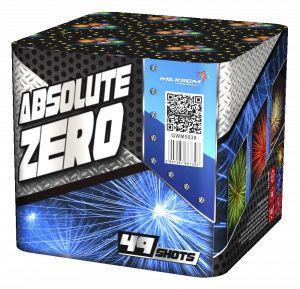 "Батарея салютов ""ABSOLUTE ZERO"" 49 залпов * 1,2""  1/2"