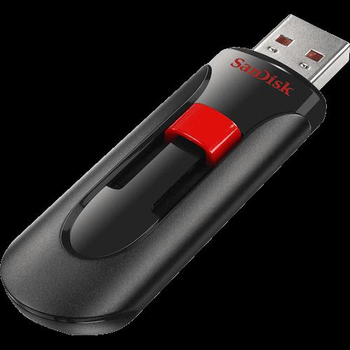 USB флэш-диск SanDisk 64GB CZ60 Cruzer Glide, USB
