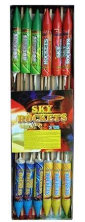 """Ракеты """"Sky Rockets GWR6106"""", набор 12шт  1/36"""