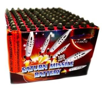 "Батарея салютов ""Saturn Missle Battery"" K1130C12  100 залпов   1/30"