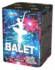 "Батарея салютов ""BALET""  11 залпов * 0.5""  1/96"