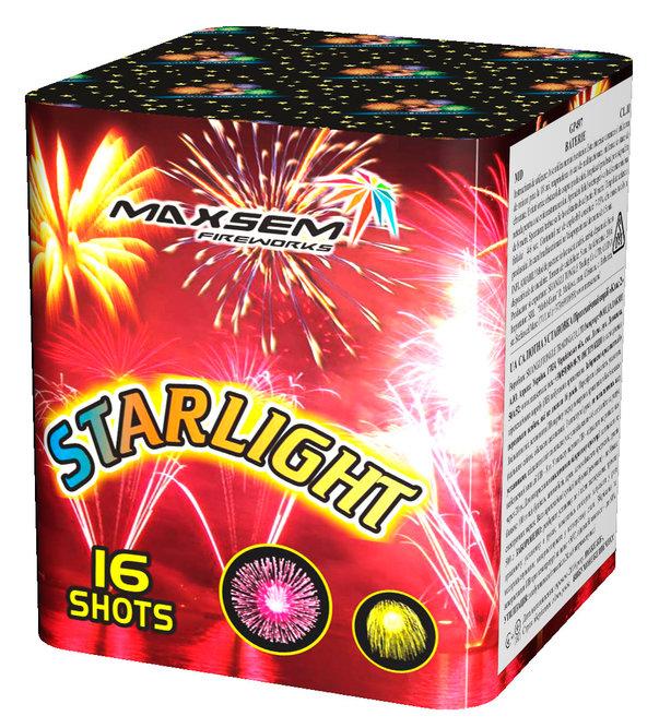 "Батарея салютов ""STARLIGHT""  16 залпов * 0.8""  1/24"