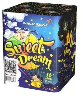 "Батарея салютов ""SWEET DREAM""  16 залпов * 1""  1/12"