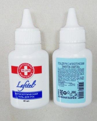 Гель Lafitel для рук антибакт. 40мл (1/22)