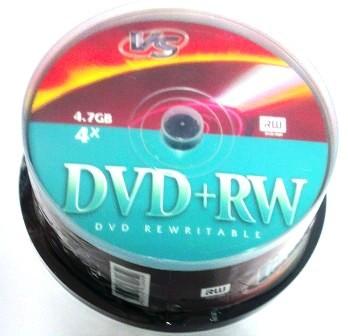 Диск VS DVD+RW 4,7 GB 4x CB/25