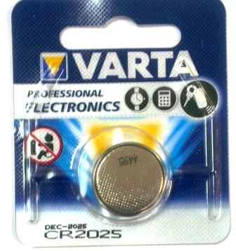 Элемент питания VARTA ELECTRONICS CR2025