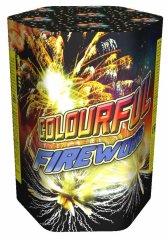 "Батарея салютов ""COLORFUL FIREWORKS""  7 залпов * 1""  1/30"