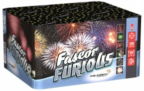 """Батарея салютов """"FASEOR FURIOUS""""  120 залпов * 1.2""""  1/1"""