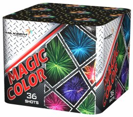 "Батарея салютов ""MAGIC COLOUR""  36 залпов * 1.75""  1/2"