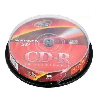 Диск VS CD-R 80 52x CB/10